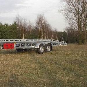 Автовоз-платформа «TA-NO»  с передней поворачиваемой осью